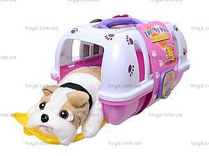 Игрушечная собака в чемодане, 114, купить