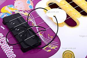 Игрушечная струнная гитара, 8017, фото