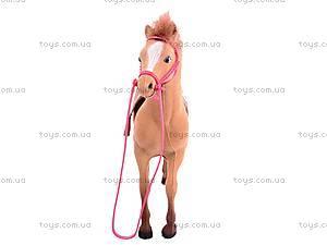 Игрушечная велюровая лошадь, 336, купить