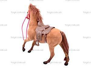 Игрушечная велюровая лошадь, 336, фото