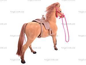 Игрушечная велюровая лошадь, 336, детские игрушки