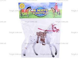 Игрушечная велюровая лошадь, 336, toys.com.ua