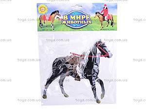 Игрушечная велюровая лошадь, 336, toys