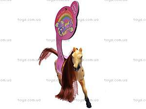 Игрушечная велюровая лошадка, 880-1, купить