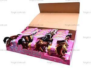 Игрушечная велюровая лошадка, 880-1, фото