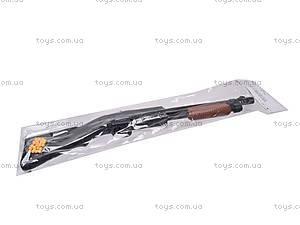 Игрушечное ружье с пульками, 615, купить