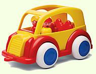 Игрушечное такси с человечками, 1260, фото