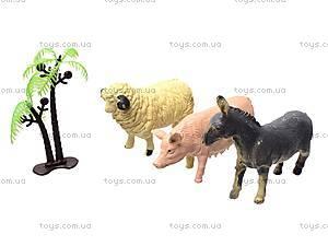 Игрушечные животные «Ферма», 666E, фото