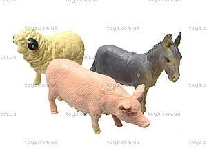 Игрушечные животные «Ферма», 666E, отзывы