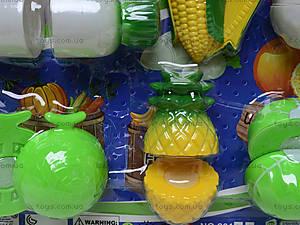 Игрушечные овощи и фрукты «Шеф-повар», 2012C, отзывы