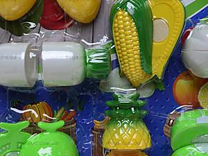 Игрушечные овощи и фрукты «Шеф-повар», 2012C, игрушки