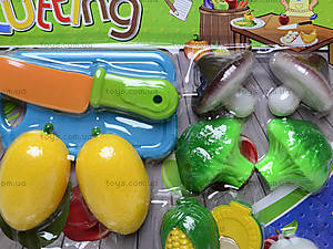 Игрушечные овощи и фрукты «Шеф-повар», 2012C, детские игрушки