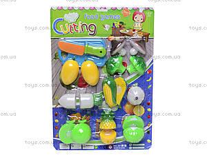 Игрушечные овощи и фрукты «Шеф-повар», 2012C