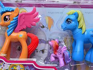 Игрушечные пони с крыльями, 0236, фото