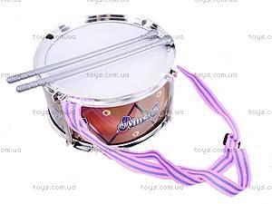 Игрушечный барабан для детей, 2125, фото