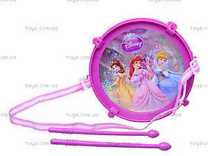 Игрушечный барабан «Принцессы», 5661-1, фото