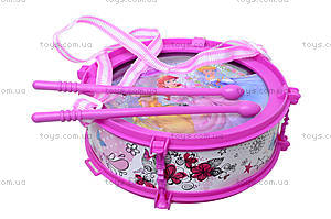 Игрушечный барабан «Принцессы», 5661-1, цена