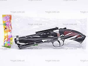 Игрушечный детский пистолет, на пульках, 2034, фото