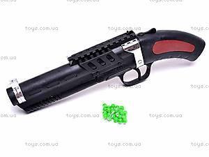 Игрушечный детский пистолет, на пульках, 2034