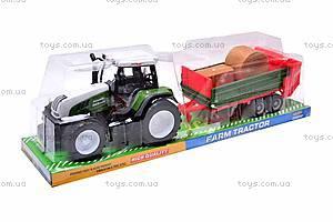 Игрушечный детский трактор, инерционный, 3089, купить