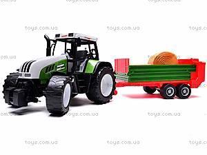 Игрушечный детский трактор, инерционный, 3089, фото