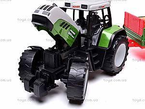 Игрушечный детский трактор, инерционный, 3089, отзывы