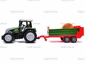 Игрушечный детский трактор, инерционный, 3089, цена