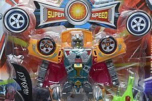 Игрушечный детский трансформер-автомобиль, 303, фото