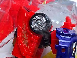 Игрушечный детский трансформер-робот, 4075, отзывы