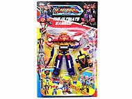 Игрушечный детский трансформер-робот, 4075, интернет магазин22 игрушки Украина