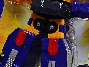 Игрушечный детский трансформер-робот, 4075, детские игрушки