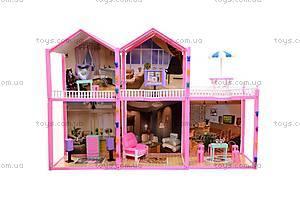 Игрушечный дом для кукол, 91D, фото