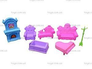 Игрушечный домик с мебелью «Коттедж», 2013-F4, купить
