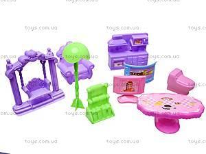 Игрушечный домик с мебелью «Коттедж», 2013-F4, отзывы