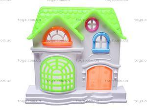 Игрушечный домик с мебелью «Коттедж», 2013-F4, цена