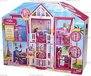 Игрушечный домик Барби «Малибу», W3141