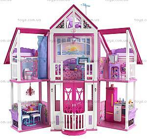 Игрушечный домик Барби «Малибу», W3141, купить
