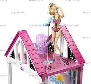 Игрушечный домик Барби «Малибу», W3141, фото
