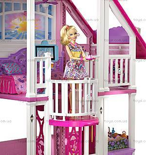 Игрушечный домик Барби «Малибу», W3141, цена