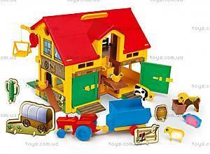 Игрушечный домик-ферма, 25450
