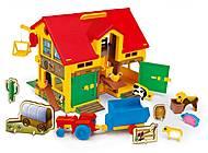 Игрушечный домик-ферма, 25450, детские игрушки