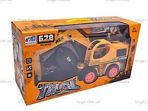 Игрушечный экскаватор с дистанционным управлением, 8030E, игрушки