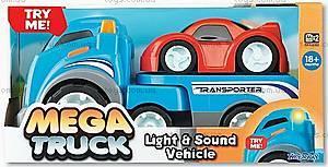 Игрушечный эвакуатор Mega truck, K12145