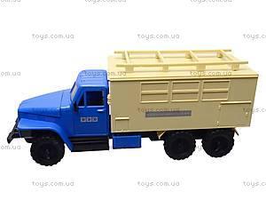 Игрушечный грузовик «Аварийная служба», M1345, игрушки