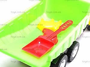 Игрушечный грузовик, для песочницы, 07-601, отзывы