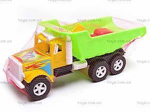 Игрушечный грузовик, для песочницы, 07-601, цена