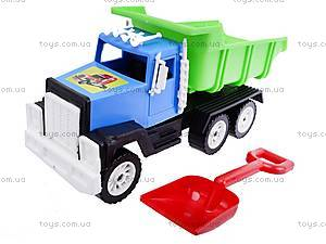 Игрушечный грузовик с лопаткой, 05-401, цена