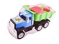 Игрушечный грузовик с лопаткой, 05-401, фото