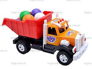 Игрушечный грузовик, с шариками, 0081