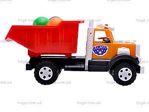 Игрушечный грузовик, с шариками, 0081, фото
